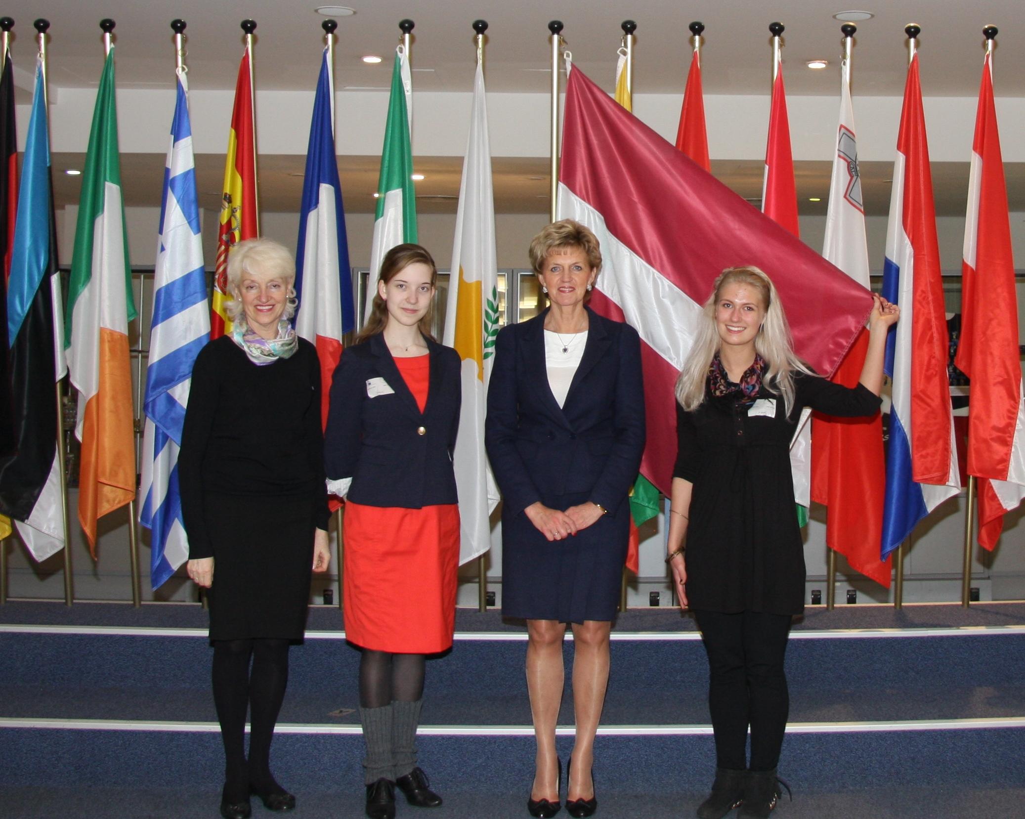 2012.04.25. Latvijas jaunie zinātnieki Briselē