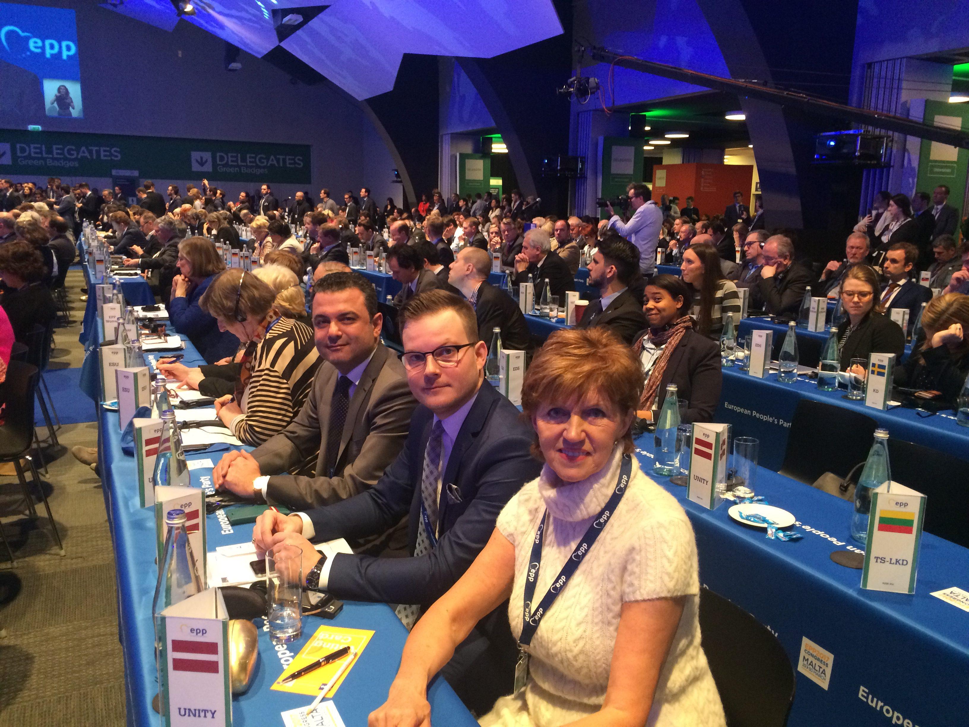 ETP kongress Maltā