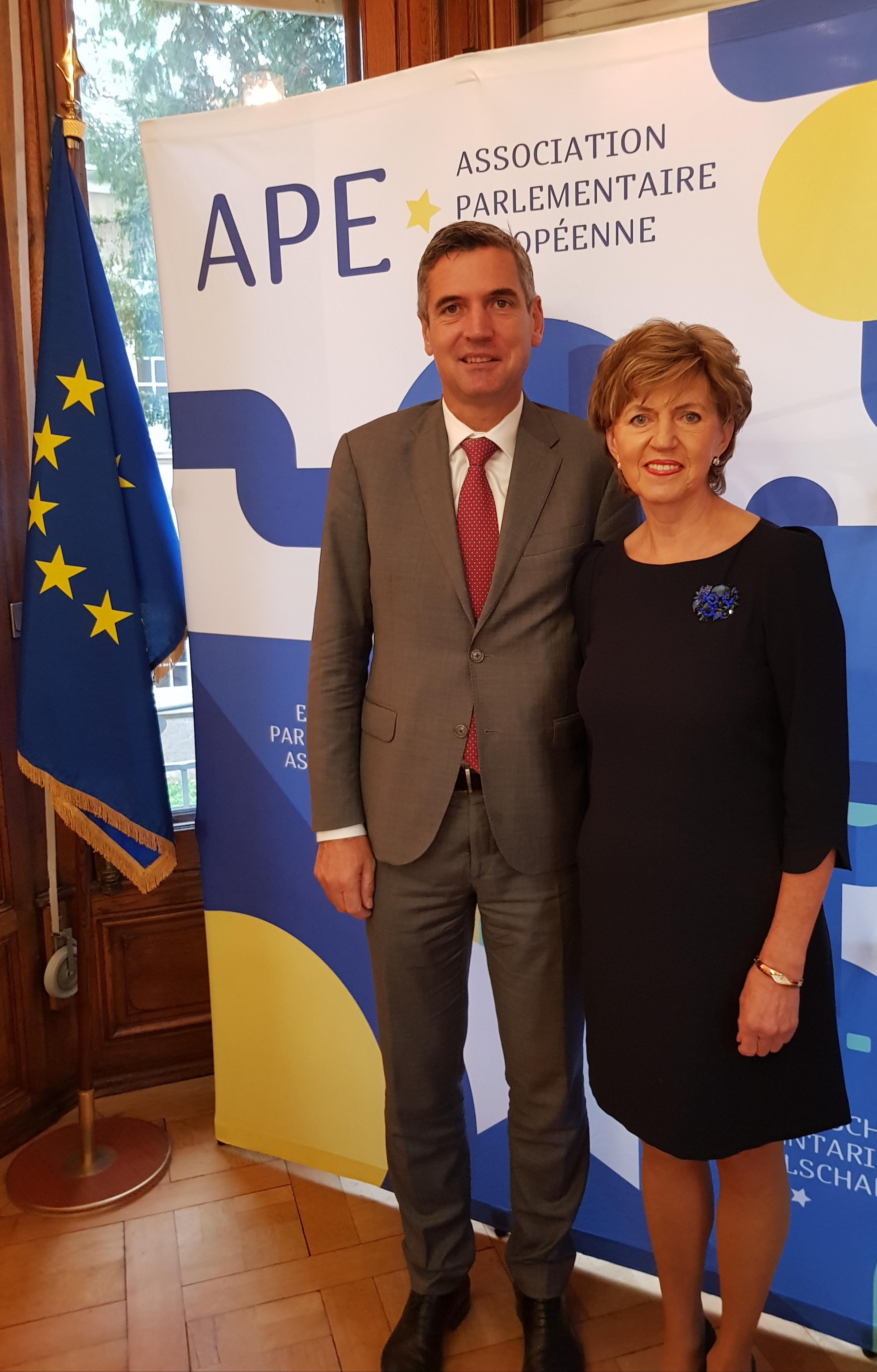 Vaidere ievēlēta par Eiropas Parlamentārās asociācijas viceprezidenti