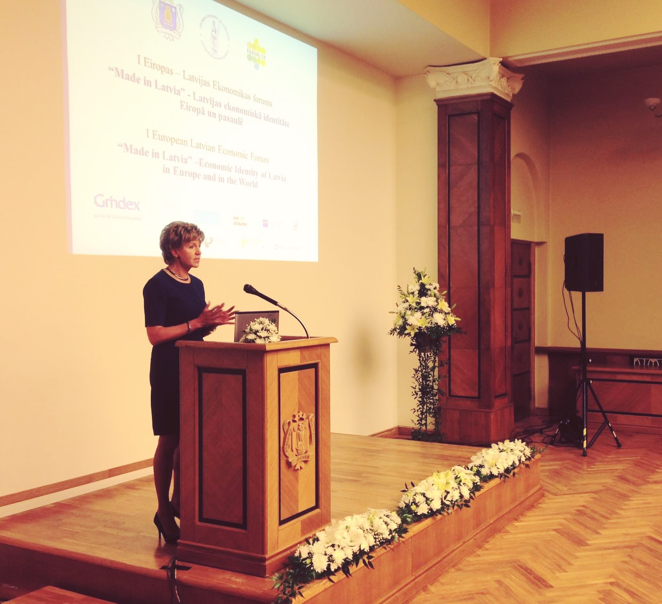 Eiropas – Latvijas Ekonomikas foruma atklāšana