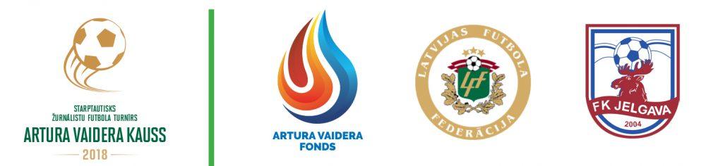 Artura Vaidera kausa un atbalstītāju logo