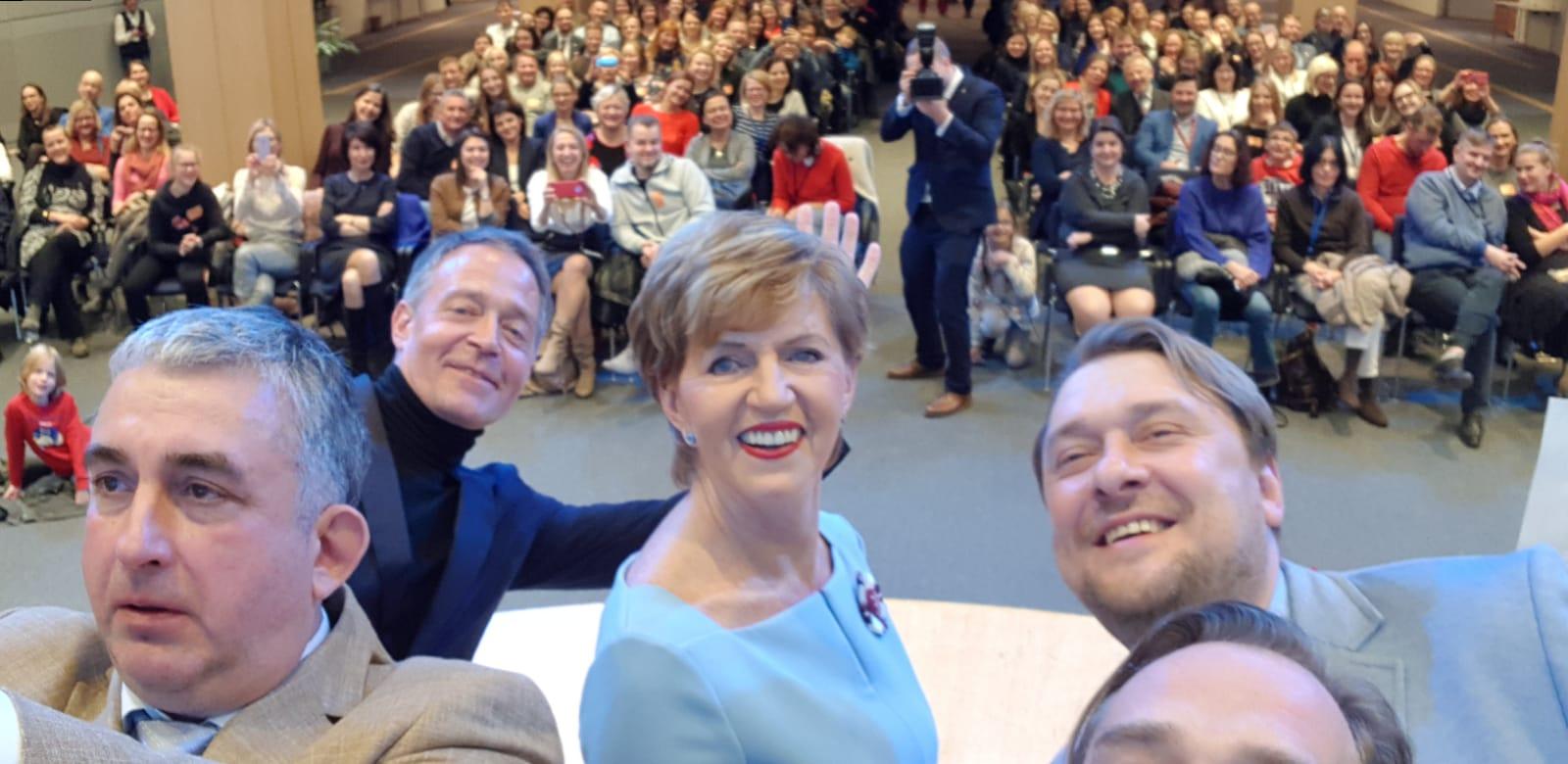 """Filma """"Homo Novus"""" Eiropas Parlamentā"""