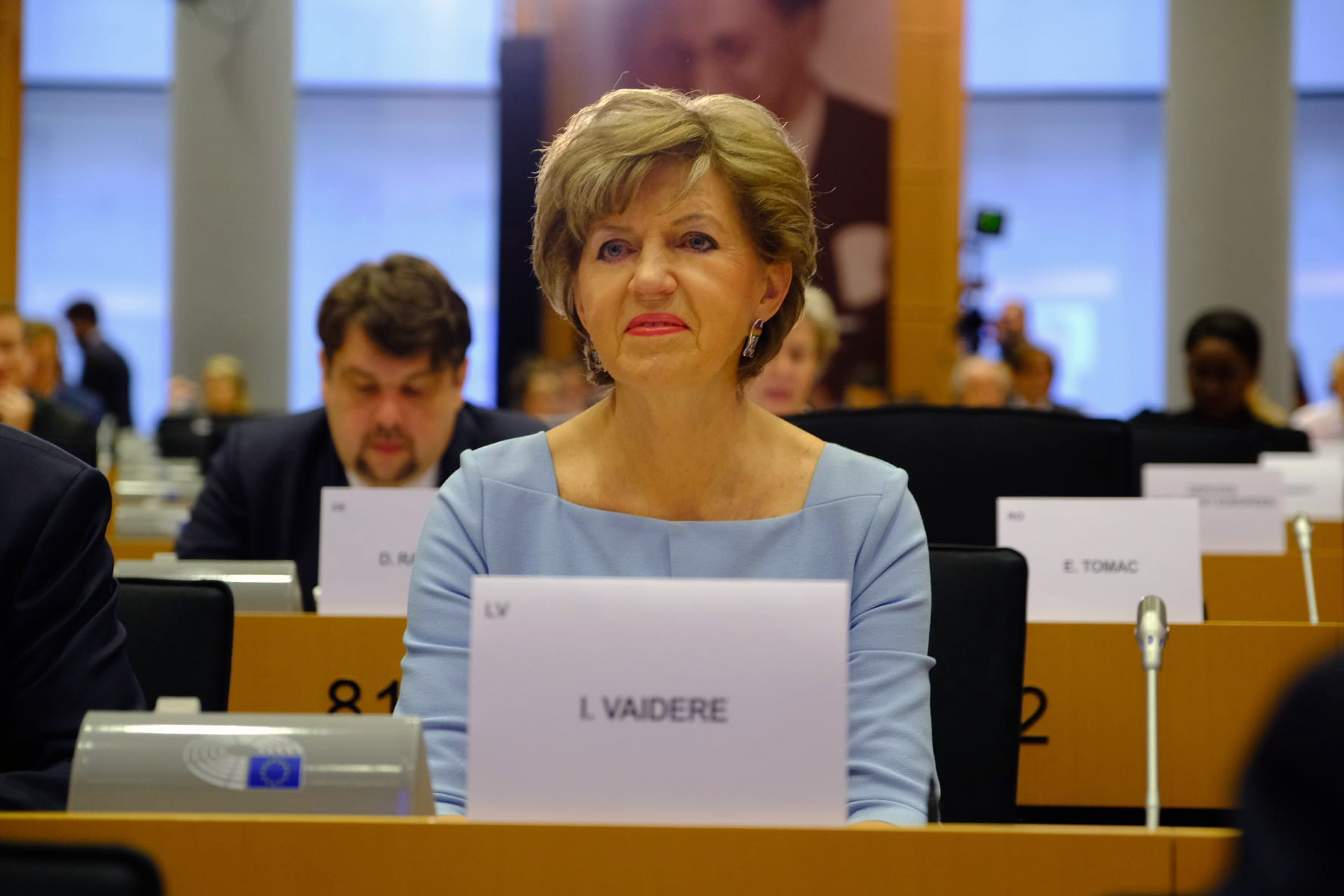 Inese Vaidere par Valda Dombrovska iztaujāšanu Eiropas Parlamentā